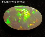 9,8ct. GEM CLASS OLYMPIC FIELD SOLID OPAL MULTICOLOR