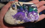 1475 ct.!! BLACK OPAL GREEN-BLUE-PURPLE