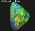 9,3ct. Investment GEM Opal Brilliant Gold-Orange-Grün-Rot