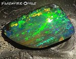 42,9ct. Investment GEM Boulder Opal Brillianz 5 Farbspiel
