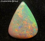 24,9 ct Solid AUSTRALIAN GEM Opal Electric Gold-Orange-Grün