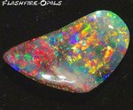 11.3ct. INVESTMENT GEM BOULDER OPAL BILIIANZ 5 RED-GOLD
