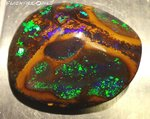 194ct. KOROIT GEM INVESTMENT OPAL GREEN-BLUE
