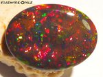 29,3ct! BRILLIANZ 5++  INVESTMENT GEM BLACK WELO OPAL